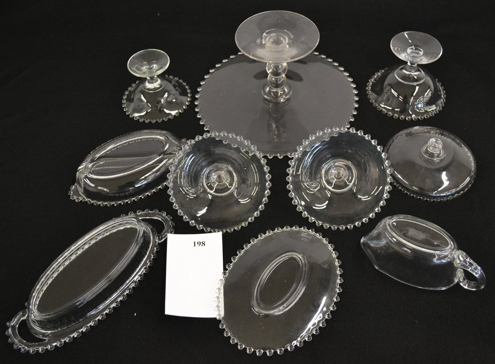 OVER (20) IMPERIAL CANDLEWICK GLASSWARE ITEMS - 2