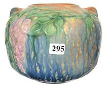 5 X 6 UNMARKED ROSEVILLE ART POTTERY VASE