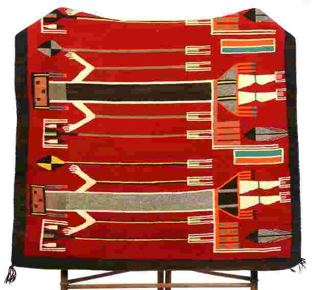 Approx 60 Quot X 44 Quot Original Native American Rug Blanket