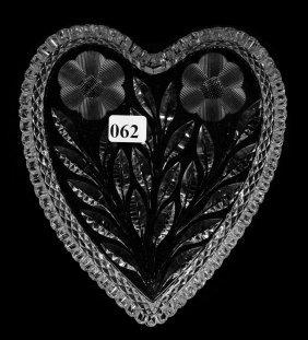 """Heart Shaped Dish - 7"""" - Abcg"""