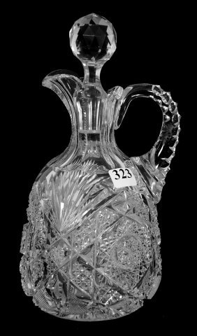 "Decanter - 9 1/4"" - Abcg - Carolyn Pattern By J. Hoare"