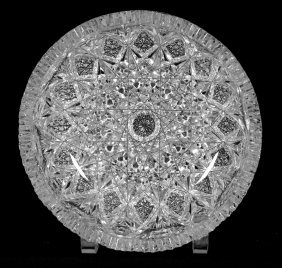 """Bowl - 3 1/2"""" X 8"""" - Abcg - Expanding Star Pattern By"""