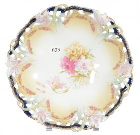 """10 1/4"""" Unmarked Prussia Bowl"""