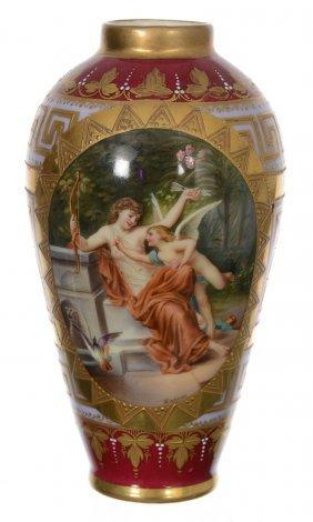 "4 3/4"" Marked Beehive Vase"