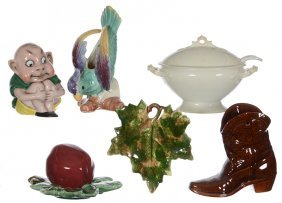 Assorted (6) Pottery & Porcelain Items