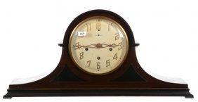 """10 3/4"""" X 22 1/2"""" New Haven Mantel Clock"""