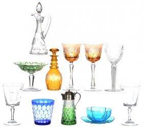 (11) Art Glass Items