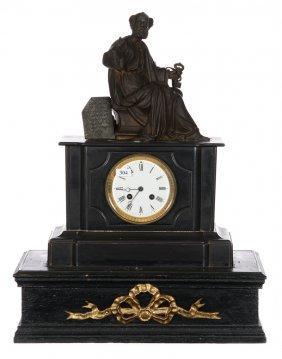 "21"" X 16 1/2"" French Mantel Clock"