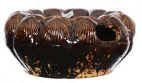 "4"" X 9"" Bennington Pottery Spittoon - Shell Shape Mold"