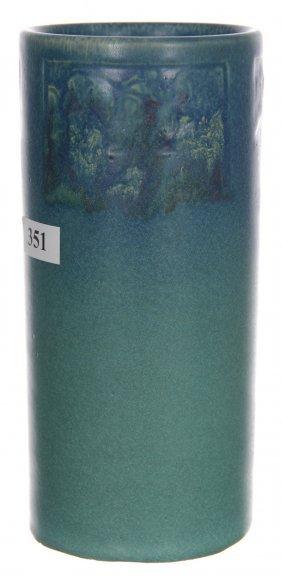 """7"""" X 3 1/4"""" Rookwood Art Pottery Cylinder Vase - Mold"""