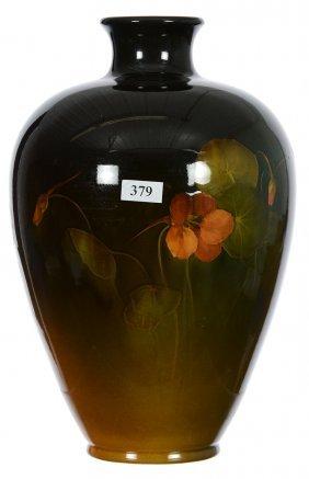 """11"""" Rookwood High Shoulder Art Pottery Vase - Brown"""