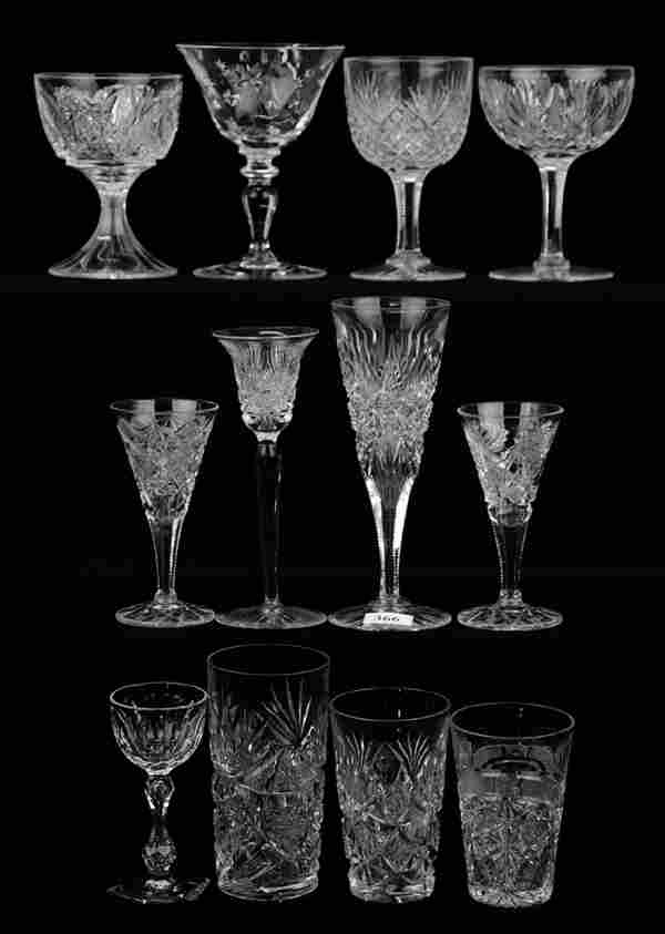 (12) STEMS AND TUMBLERS INCLUDING: