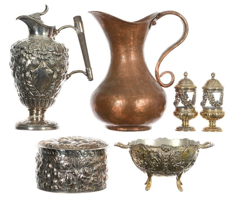 (6) METAL ITEMS INCLUDING