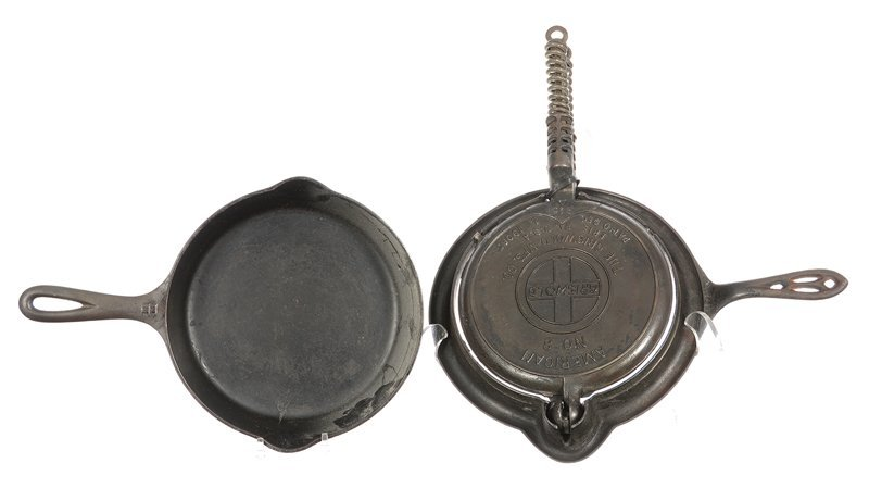 (2) GRISWOLD CAST IRON ITEMS