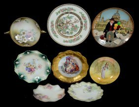 (8) Assorted Plates And Bowls Including