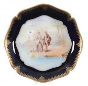 """12"""" Marked Limoges Round Charger"""