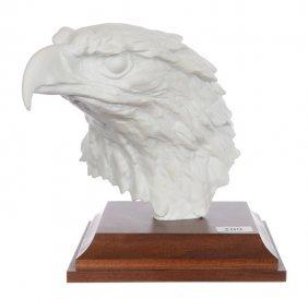 """7"""" X 8"""" Marked Kaiser Figural White Porcelain Bust Of"""