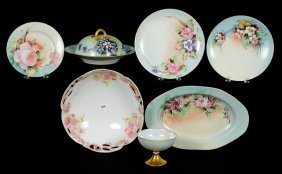 (6) Assorted Austrian & Bavarian Handpainted Items