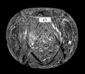 """ROSE BOWL - 5.25"""" X 6.5"""" - ABCG - IMPERIAL PATTERN"""
