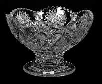 FOOTED BOWL  55 X 8  ABCG  BERLYN PATTERN BY