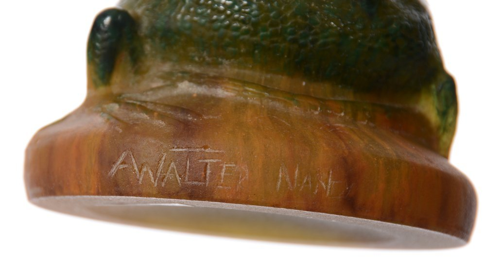 """EXTREMELY RARE 8.75"""" X 4"""" SIGNED A. WALTER NANCY FRENCH - 3"""