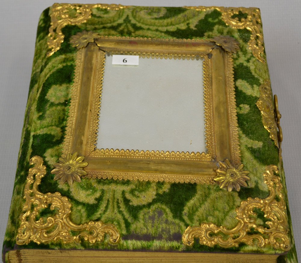 "13"" X 10.5"" MUSIC BOX/PHOTO ALBUM - 2"