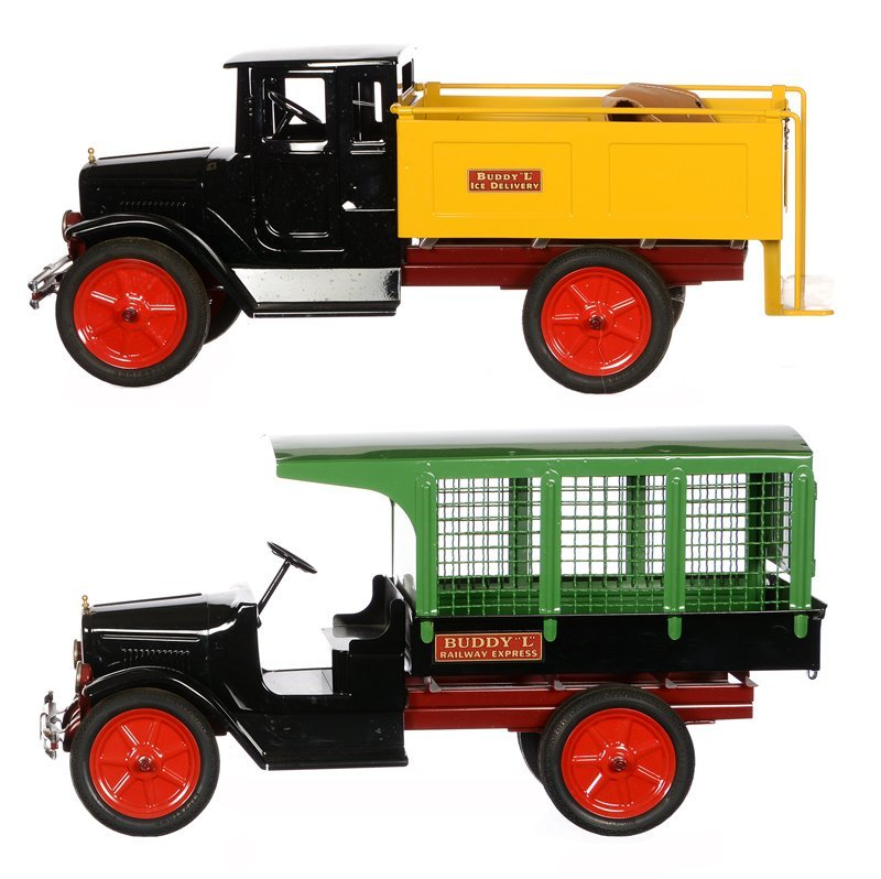 (2) BUDDY L TIN TOYS