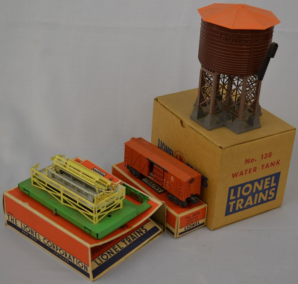 (8) ORIGINAL LIONAL TRAIN PARTS AND ACCESSORIES ON - 2