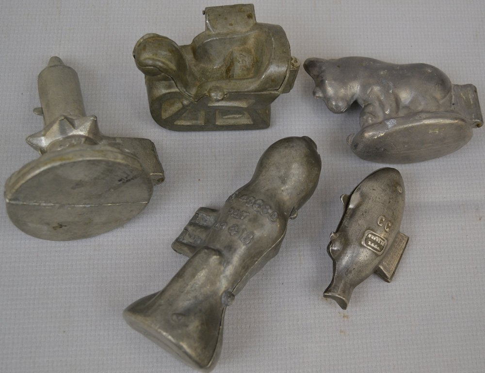(15) FIGURAL ICE CREAM MOLDS - 4