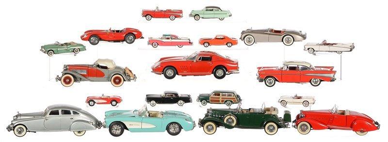(18) DIE-CAST METAL MODEL CARS