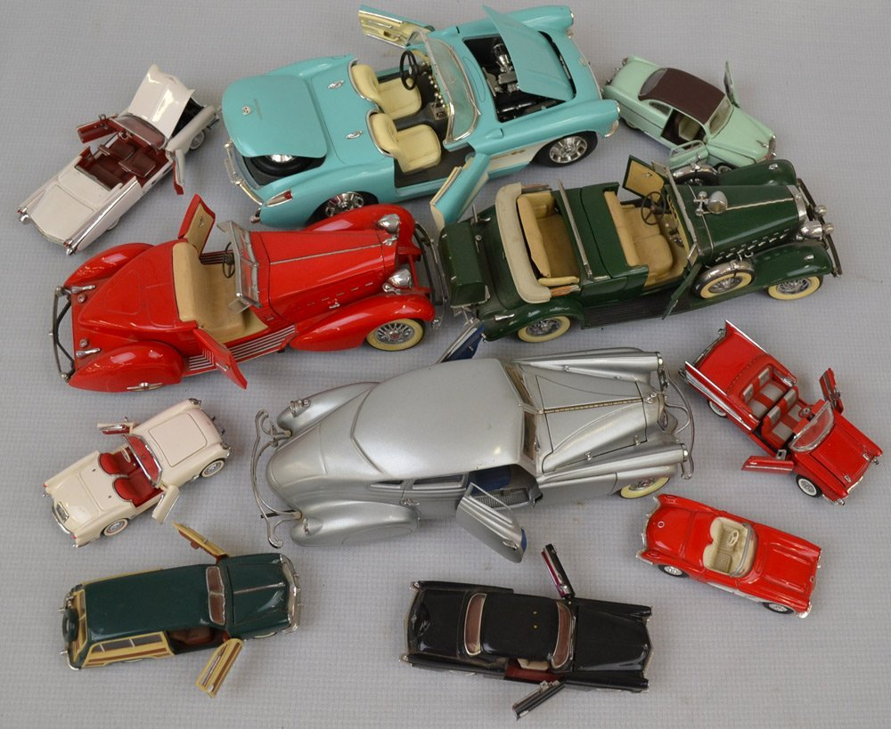 (18) DIE-CAST METAL MODEL CARS - 2