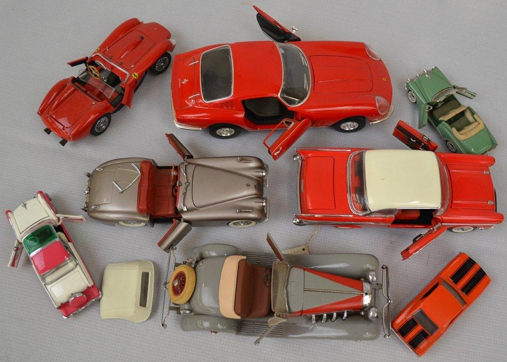 (18) DIE-CAST METAL MODEL CARS - 3