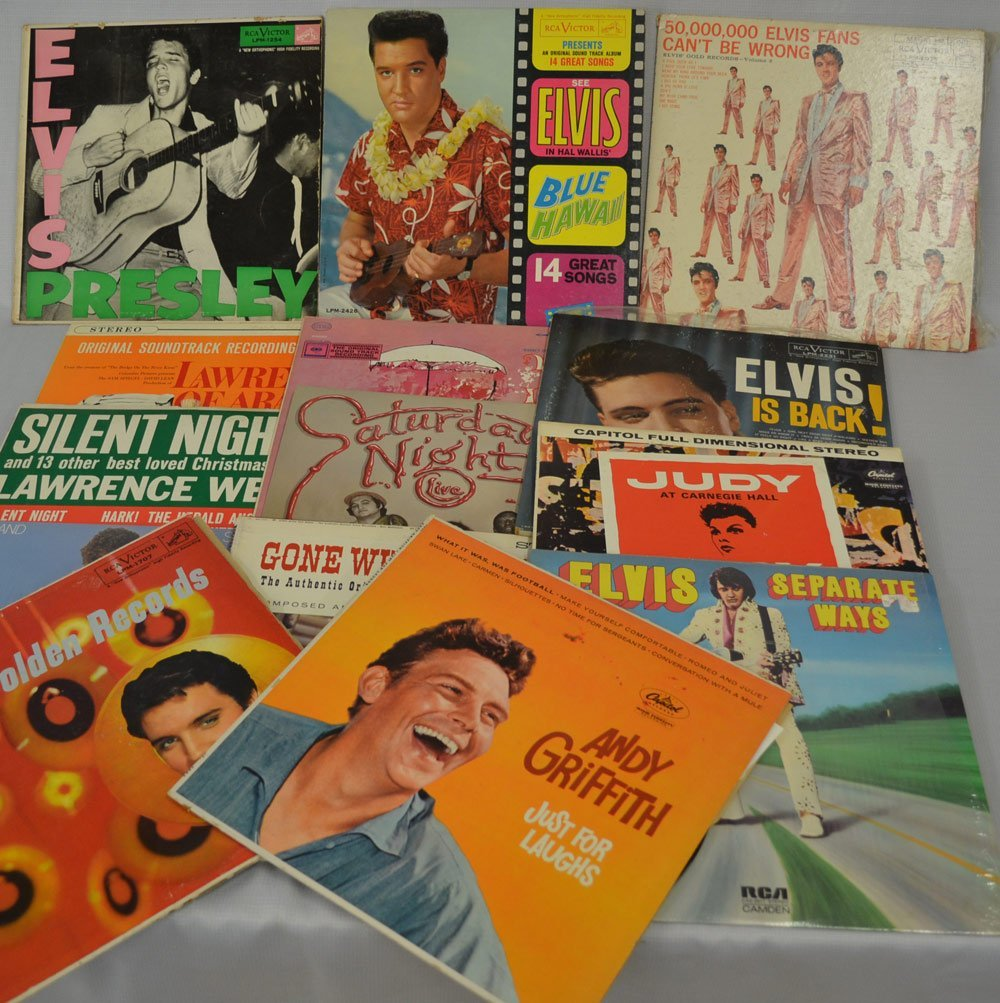 LARGE ASSORTMENT OF RECORDS INCLUDING - 7