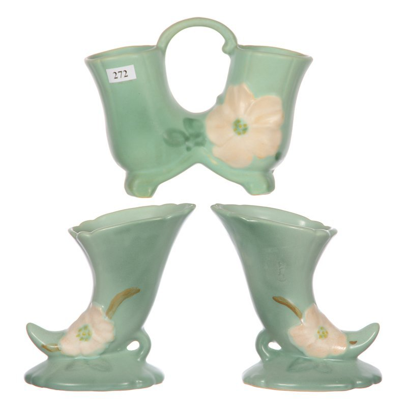 (3) WELLER ART POTTERY ITEMS INCLUDING