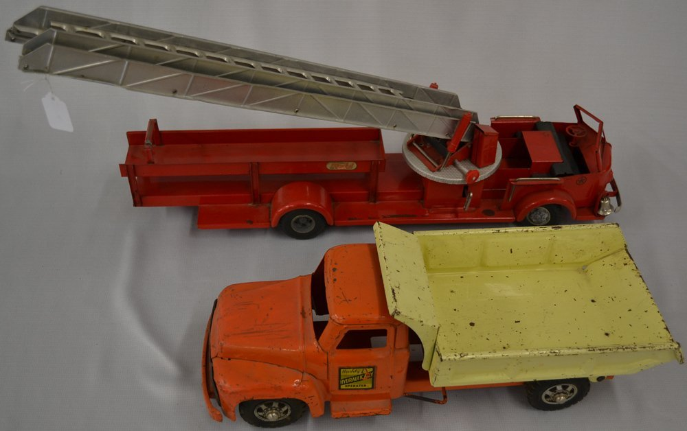 (6) ASSORTED VINTAGE TOY VEHICLES - 2