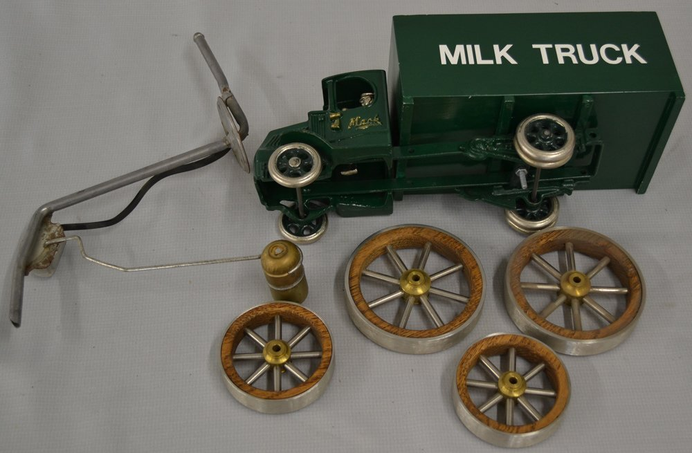 (6) ASSORTED VINTAGE TOY VEHICLES - 4