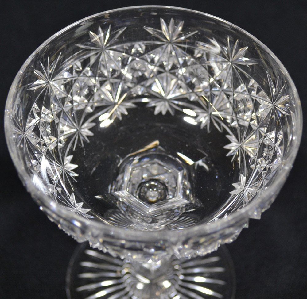 "(7) CHAMPAGNE GLASSES - 5.62"" - ABCG - 2"