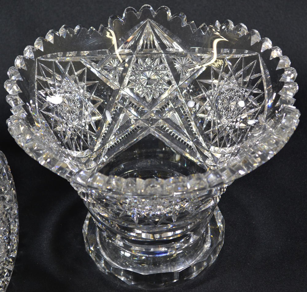 "TWO-PART PUNCH BOWL - 15.75"" X 13"" - ABCG - 3"