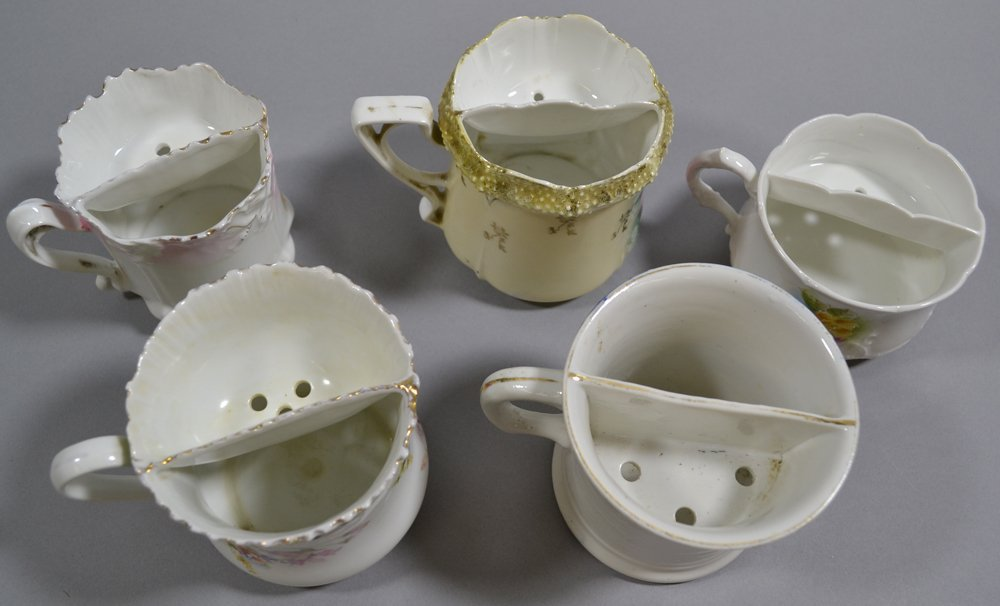 (5) R.S.PRUSSIA AND GERMANY SHAVING MUGS INCLUDING - 2