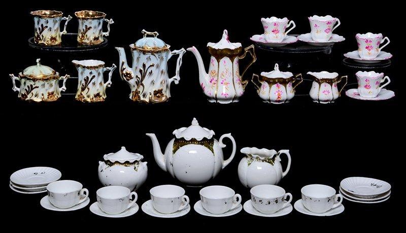 (3) CHILDREN'S TEA SETS INCLUDING