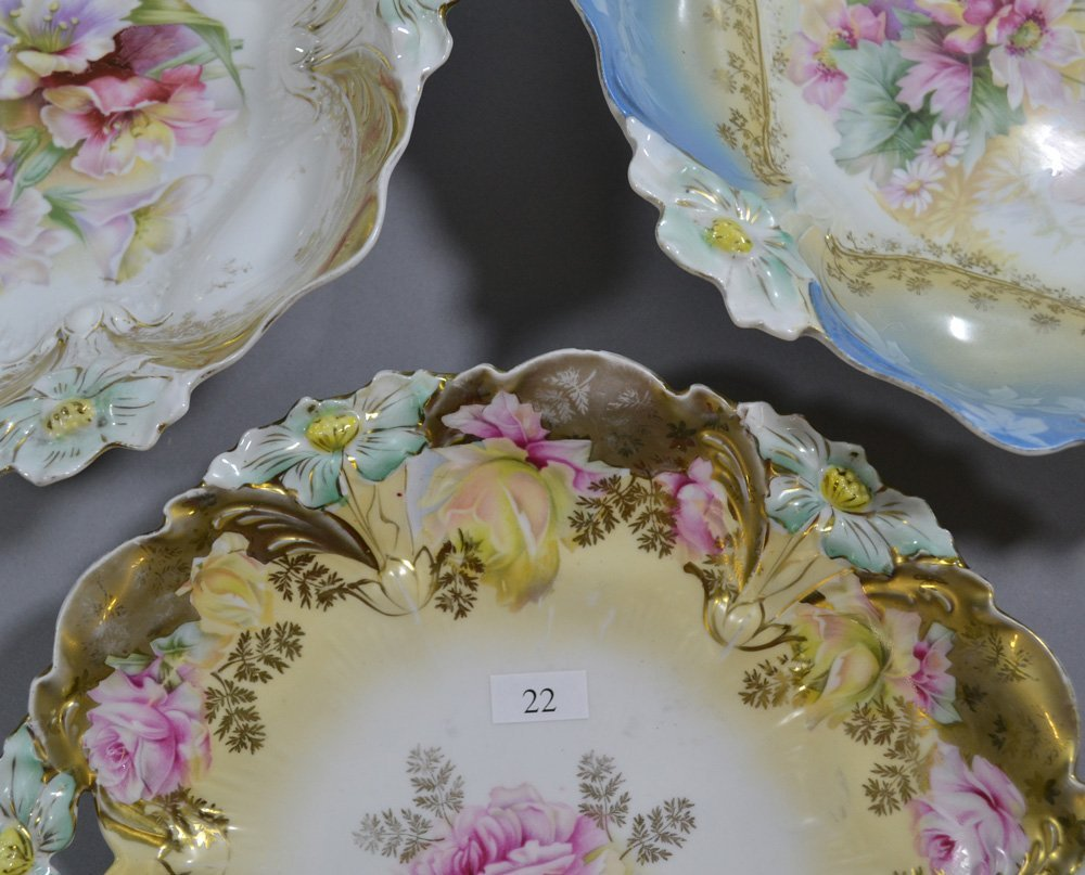 (3) UNMARKED RSP LILY MOLD ITEMS INCLUDING - 2