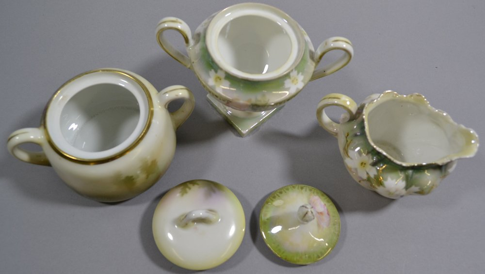 (13) ASSORTED R.S.PRUSSIA AND PRUSSIA STYLE CREAMERS - 2