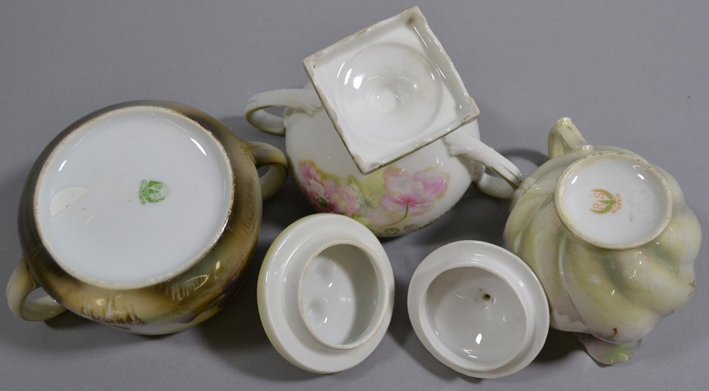 (13) ASSORTED R.S.PRUSSIA AND PRUSSIA STYLE CREAMERS - 3