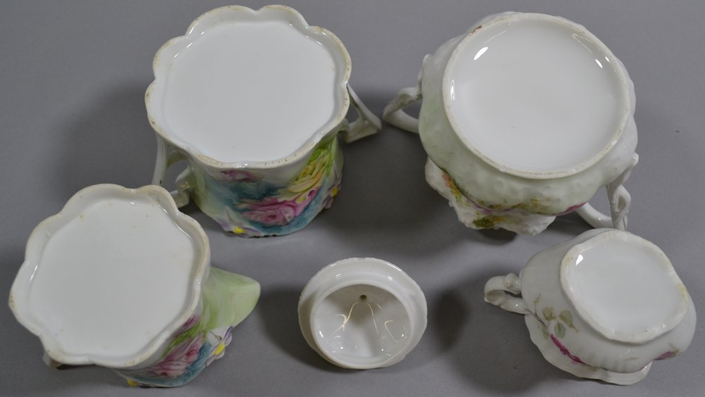 (13) ASSORTED R.S.PRUSSIA AND PRUSSIA STYLE CREAMERS - 5