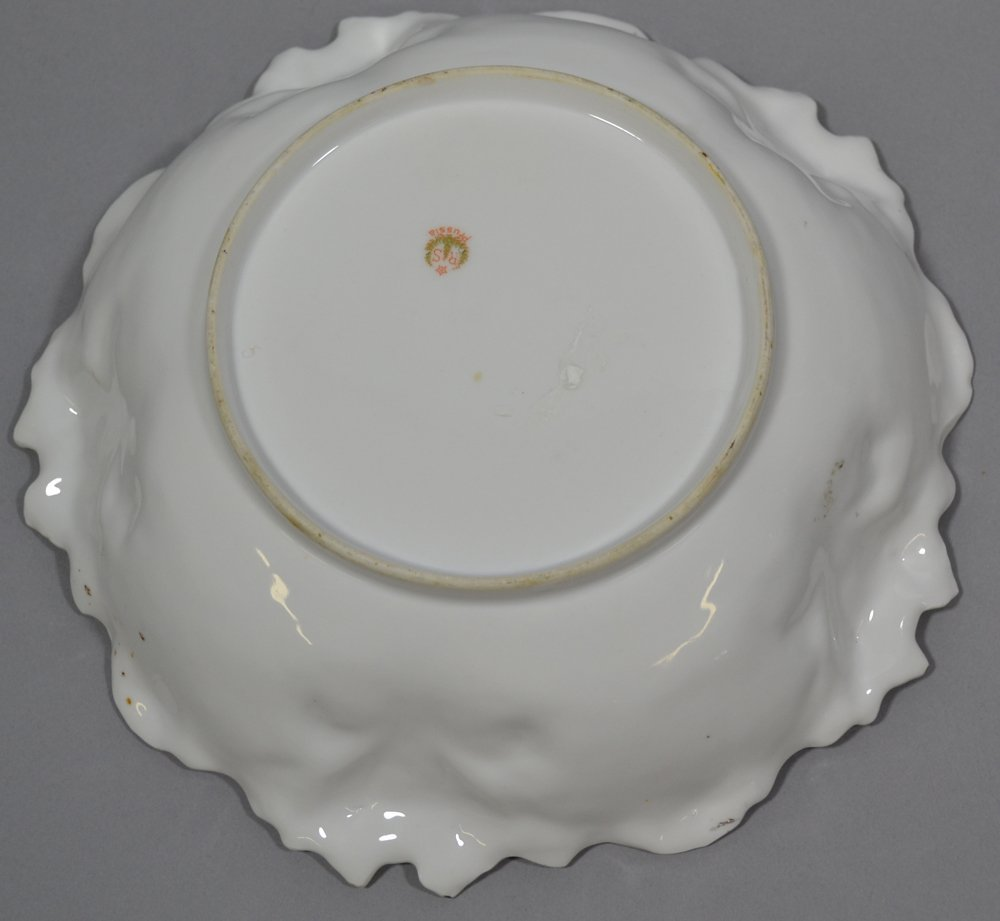 (2) R.S.PRUSSIA IRIS MOLD BOWLS - 5