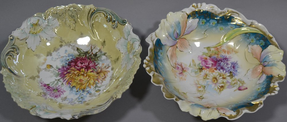 (4) UNMARKED R.S.PRUSSIA BOWLS INCLUDING - 4
