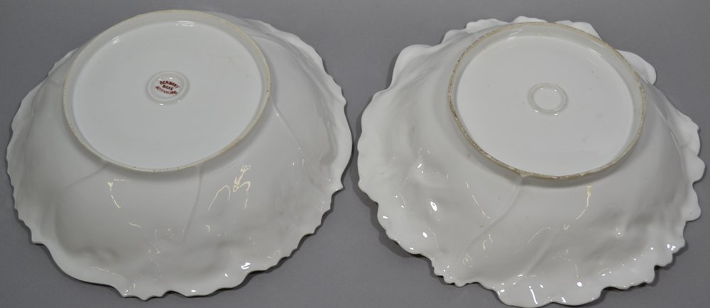 (4) UNMARKED R.S.PRUSSIA BOWLS INCLUDING - 5