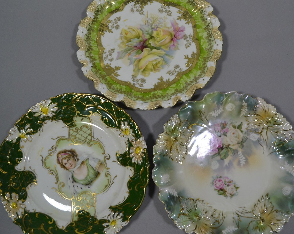 "(8) R.S.PRUSSIA 8"" PLATES INCLUDING - 4"