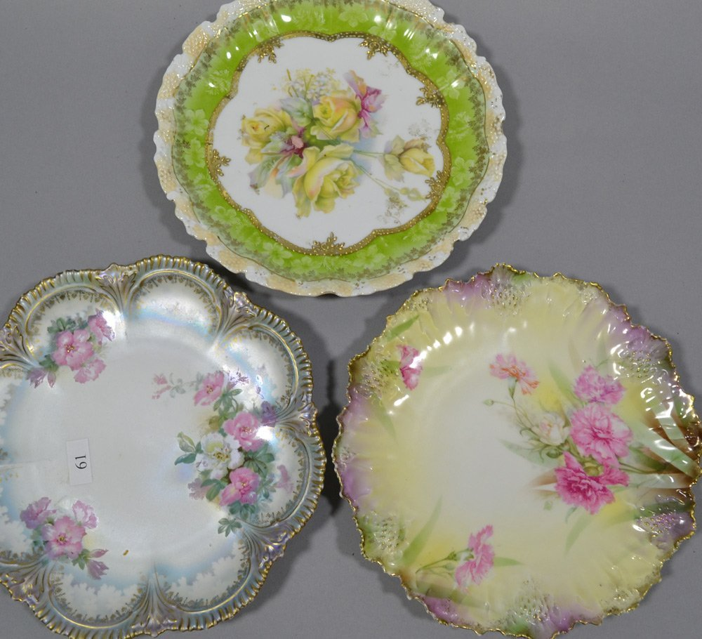 "(8) R.S.PRUSSIA 8"" PLATES INCLUDING - 6"