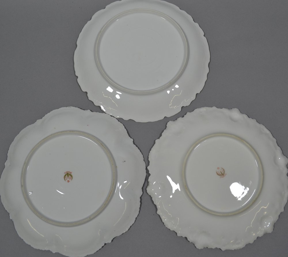 "(8) R.S.PRUSSIA 8"" PLATES INCLUDING - 7"